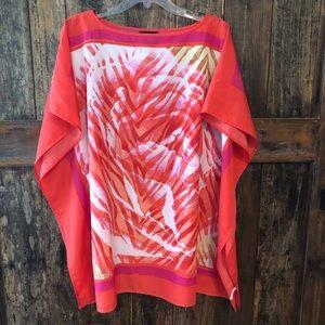 Fashion Bug, XL, Orange & Yellow Cover-Up
